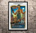 Kurt Russell Big Trouble in Little China #1 - Vintage Movie Poster Classic Film