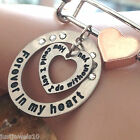 Christmas unusual Gifts silver bracelets keyring WILL NOT FADE stocking filler