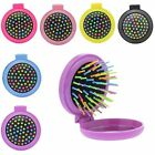 Portable Round Make Up Cosmetic Pocket Mini Mirror With Comb Travel Party Womens