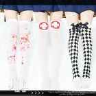 Japan street KERA retro cosplay paramedic theme knee high socks J2Q7001