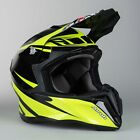 New 2016 Airoh Twist Freedom Gloss Yellow Helmet Motocross Enduro S M L XL