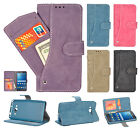 For Samsung Galaxy Grand Prime Premium Slide Out Pocket Wallet Case Pouch Cover