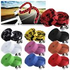 2pcs Super Cork Handlebar Grip Bar Tape Road Bike Bicycle Wrap + 2 Bar Plugs New