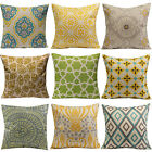 Attractive Vogue Vintage Cotton Linen Throw Pillow Case Cushion Cover Home Decor