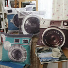 Vogue Attractive Retro Camera Home Decor Cushion Cover Throw Pillow Case