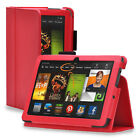 For Amazon Kindle Fire 7 HD 8 10 5th Gen 2015 Folio PU Leather Case Cover Stand