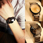 Unisex Men/Women Watch Compass Stainless Steel Quartz Analog Wrist Watch