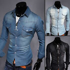 2015 New fashion Men's Jeans Casual Slim Fit Stylish Wash Vintage Denim Shirts