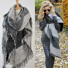 Hot Winter Women's Thick Warm Wool Pashmina Cashmere Stole Scarves Shawl Wraps