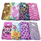 Mix Bling Gem Hard Cover Chrome Slim Case For HTC One M7