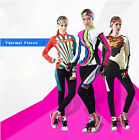 Thermal Fleece Long Sleeve Womens Team Cycling Jersey Set Pants Winter Windproof