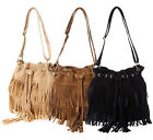 Stylish Women Fashion Fringe Tassel Shoulder Bag Crossbody Bag Messenger Handbag