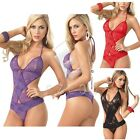 Sexy Lingerie Women's Sleepwear Underwear Babydoll Mini Dress Costume G-String