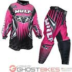 Wulf Arena Cub Pink Motocross Kit Off Road Wulfsport Childrens MX ATV Kids Girls