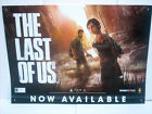 "THE LAST of US 26""x 36"" LARGE PROMO GAME STORE POSTER SONY NAUGHTY DOG FREE SHIP"