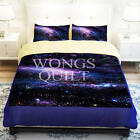 Galaxy Single Double Queen King Size Bed Set Pillowcase Quilt Duvet Covers