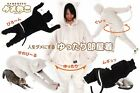 Meowgaroo Jumpsuit - Dame-Neko full-body cat cuddle clothes with tail