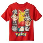 % Pokemon Little Boy's T-Shirt - Red