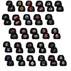 New NHL Embroidered Head Rest Covers Black w/Team Logo Car Truck SUV Set of 2
