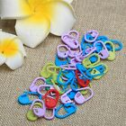 Beauty Colorful Craft Knitting Crochet Stitch Locking Needle Holder Clip Marker