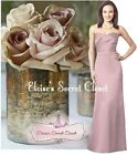 DARLING Dusky Pink Strapless Satin Bridesmaid Laced Back Dress UK 6 -18