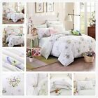 Florals Quilt/Duvet/Doona Cover Set New 100% Cotton Double/Queen Size Bed  Linen