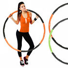 MIRAFIT Weighted Gym Hula Hoop Fitness Workout/Exercise Ring Hoola Massager Ab