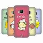 HEAD CASE DESIGNS YUMMY DOODLE COVER RETRO RIGIDA PER HTC TELEFONI 1