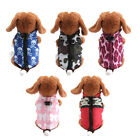 Pet Jacket Dog Coat Puppy Clothes Winter Warm Apparel Dog Clothing Costume S M L