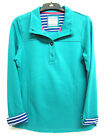 Ladies Ex Chain Store green long sleeve button top