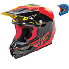 Fly Racing 2016 F2 Carbon Pure Motocross Helmet Vented ECE Lightweight Washable