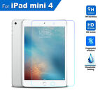 Scratch Resist Tempered Glass Screen Protector Film Guard for Apple iPad Mini 4