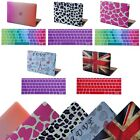 2015 MacBook 12 Retina Designer Plastic Case Protective Cover + Keyboard Skin