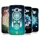 HEAD CASE DESIGNS SNOWFLAKES HARD BACK CASE FOR SAMSUNG PHONES 4