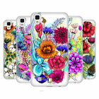 HEAD CASE DESIGNS WATERCOLOURED FLOWERS HARD BACK CASE FOR LG PHONES 2