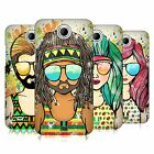 HEAD CASE DESIGNS SUMMER HIPPIES HARD BACK CASE FOR HTC PHONES 3