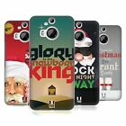 HEAD CASE DESIGNS CHRISTMAS CAROLS HARD BACK CASE FOR HTC PHONES 2