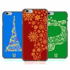 HEAD CASE DESIGNS SNOWFLAKES ART HARD BACK CASE FOR APPLE iPHONE PHONES