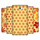 HEAD CASE DESIGNS FLORAL PATTERN HARD BACK CASE FOR SONY PHONES 4