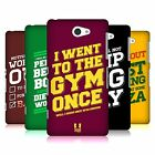 HEAD CASE DESIGNS FUNNY WORKOUT STATEMENTS HARD BACK CASE FOR SONY PHONES 4
