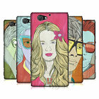 HEAD CASE DESIGNS LINEART HAIRSTYLES HARD BACK CASE FOR SONY PHONES 4