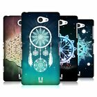 HEAD CASE DESIGNS SNOWFLAKES HARD BACK CASE FOR SONY PHONES 4