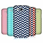 HEAD CASE DESIGNS HERRINGBONE PATTERN HARD BACK CASE FOR SAMSUNG PHONES 6