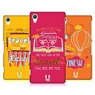 HEAD CASE DESIGNS TRAVELLERS NOTE HARD BACK CASE FOR SONY PHONES 2