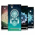 HEAD CASE DESIGNS SNOWFLAKES HARD BACK CASE FOR SONY PHONES 3