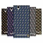 HEAD CASE DESIGNS TANGRAM ANIMAL PRINTS HARD BACK CASE FOR SONY PHONES 3