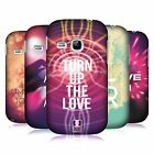 HEAD CASE DESIGNS EDM LOVE HARD BACK CASE FOR SAMSUNG PHONES 5