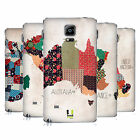 HEAD CASE DESIGNS PATTERNED MAPS REPLACEMENT BATTERY COVER FOR SAMSUNG PHONES 1
