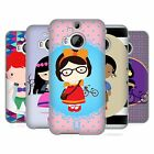 HEAD CASE DESIGNS PRINCESS HIPSTERS SOFT GEL CASE FOR HTC PHONES 2