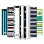 HEAD CASE DESIGNS PRINTED STRIPES SOFT GEL CASE FOR BLACKBERRY PHONES